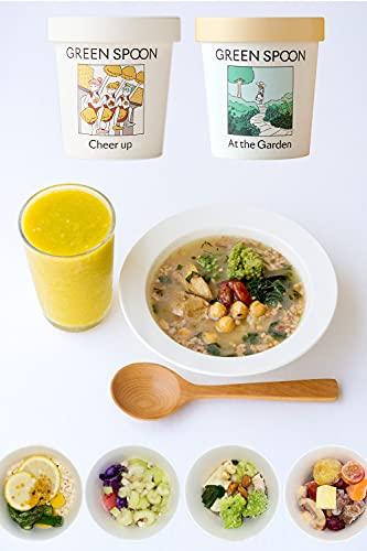 GREEN SPOON(グリーンスプーン) スムージー & 野菜スープ 4食 (カップ) 置き換え 野菜 フルーツ 無添加 時短ごはん ギフト