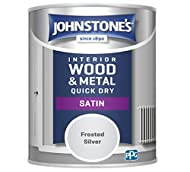 Johnstone's Quick Dry Satin provides a contemporary, mid sheen finish for interior wood and metal including skirting boards, doors, radiators and staircases. The water based, low odour formulation is self-undercoating, non-yellowing and quick drying ...