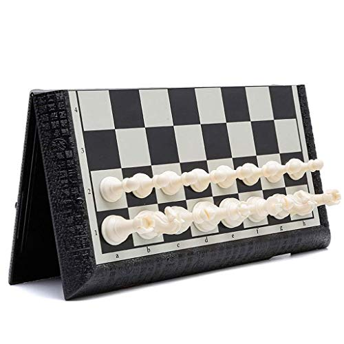 GLXLSBZ Chess set Chess Set Game, Travel Magnetic Chess Piece Set With Chess Set/Portable Storage chess (Size : 41cm)
