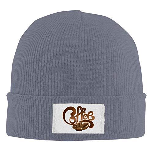 XCNGG Unisex Beanie Cap, Kaffee gestrickte Hecke Warme einfarbige Klassische Mütze für den täglichen Winter im Freien