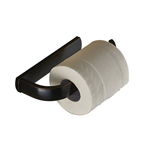 Rozin Oil Rubbed Bronze Toilet Paper Holder Wall Mounted by Rozinsanitary