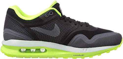 Nike Air Max Lunar 1, Damen Laufschuhe Training, Mehrfarbig (Black/Dark Grey-Volt-Pr Pltnm), 38 EU