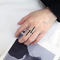 PINKING 指輪 オープニング 幾何学 リング ファッション シンプル 個性 プレゼント 文芸 美しい 個性 美指リング