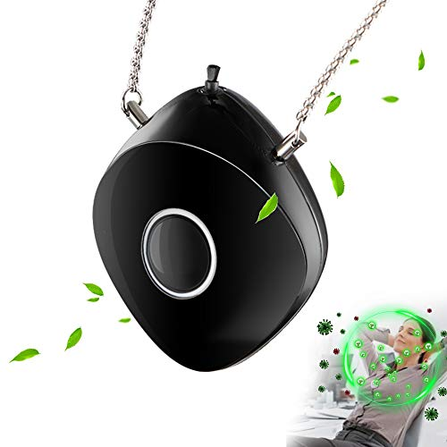 Electronic air necklace, negative ion air necklace wearable for both kids and adults
