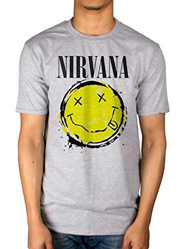 AWDIP Oficial Nirvana Smiley Splat T-Shirt