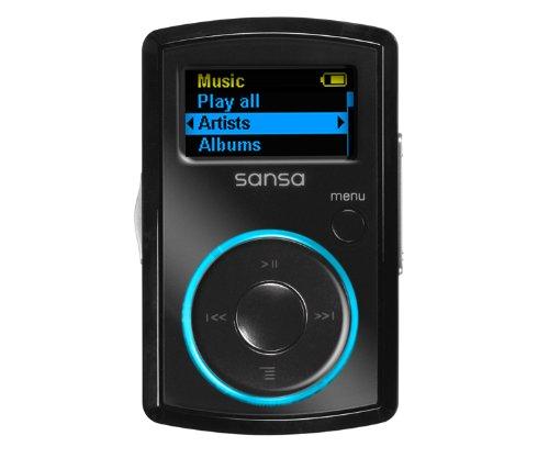 Sandisk Sansa Clip MP3-Player 8 GB mit integriertem FM-Tuner schwarz