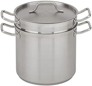 Royal Industries Double Boiler with Lid, 8 qt, 9.4
