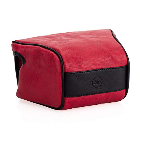 Leica Ettas Coacted Canvas Pouch (Red)