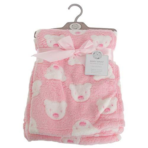 Snuggle Baby - Châle BERA FACE - Bébé (75 cm x 100 cm) (Rose)