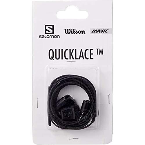 Salomon Quicklace KIT Traillaufschuhe, Schwarz (Black), Einheitsgröße