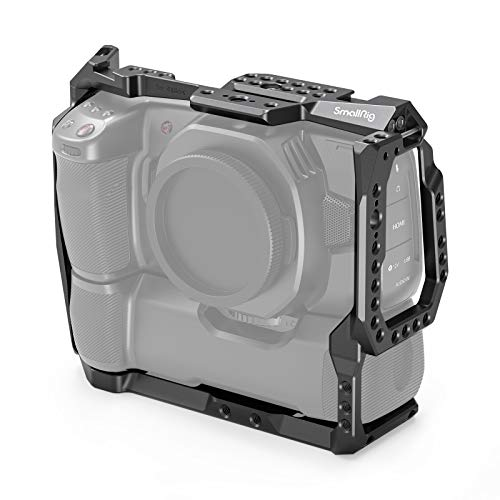 SMALLRIG Cage Käfig für Blackmagic Pocket Cinema Camera 4K & 6K mit angebautem Batteriegriff - 2765