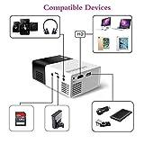 Zoom IMG-1 mini proiettore portatile artlii pocket