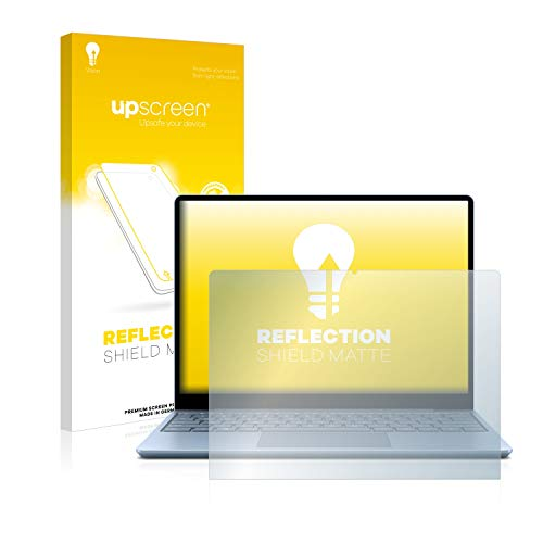 upscreen Anti-Glare Screen Protector compatible with Microsoft Surface Laptop Go – Protection Film Matte