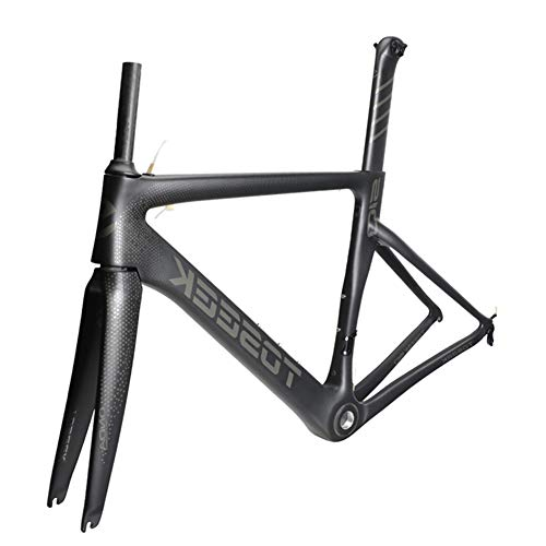 SXMXO Cuadro Completo de Bicicleta de Carretera de Carbono Aero Cycling Racing Bicycle Cuadro de Carbono T800 Cuadro de Bicicleta de Carretera de Carbono 48/51/54/56cm,48cm