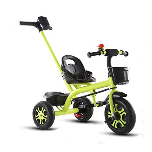 XXW kinderwagen koolstofstaal materiaal kinderen driewieler creatieve afneembare hoogte verstelbare duwgreep kind fiets baby trolley wagen