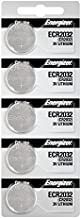 Energizer 2032 Battery CR2032 Lithium 3v, 5 Count (Pack of 1)