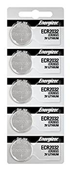 Energizer 2032 Battery CR2032 Lithium 3v 5 Count  Pack of 1