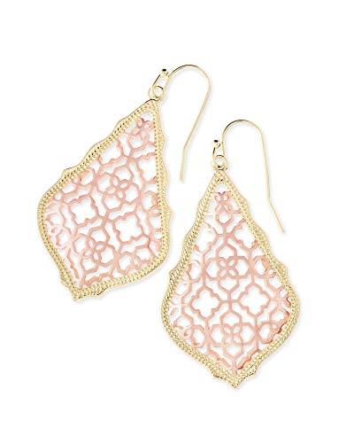 Kendra Scott Addie Drop Earrings for Women in Mixed Metal Filigree, Fashion Jewelry, 14k Gold-Plated...