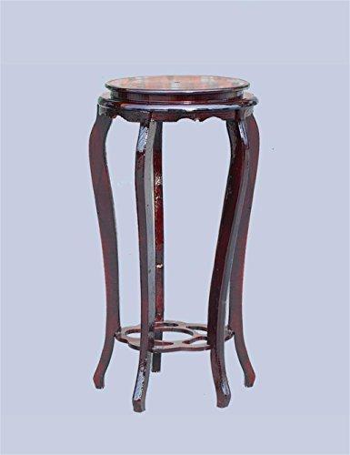 Haut - Pied Pot en bois de plante Réservoir de poissons Vase Présentoir Pot de fleur Pedestal Stand (taille : 66 * 30CM)
