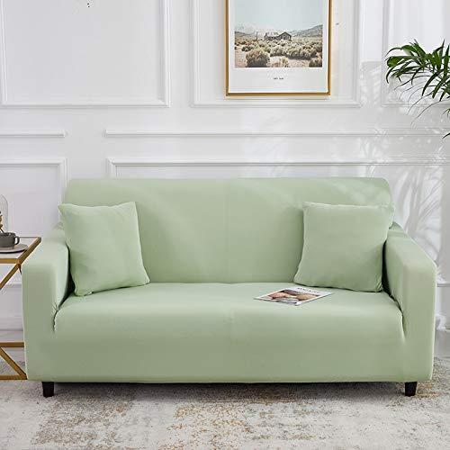 WXQY Fundas Antideslizantes elásticas de Color sólido Funda de sofá Antideslizante para Mascotas Funda de sofá para Mascotas Esquina en Forma de L Funda de sofá Antideslizante A15 3 plazas