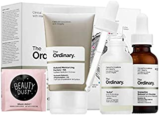 The Ordinary The No-Brainer Set! Natural Moisturizing Factors + Ha! Granactive Retinoid 2% Emulsion! Buffet Multi-Technology Peptide Face Serum! Helps Hydrate, Brighten, Soften And Smoothen Skin!