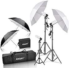 Emart 600W Photography Photo Video Portrait Studio Day Light Umbrella Continuous Lighting Kit