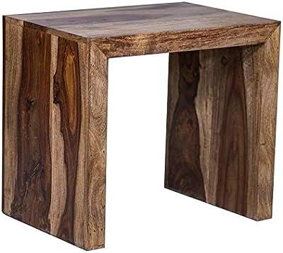 HomeCraft Decor Sheesham Wood Pre-Assemble Bedside Table