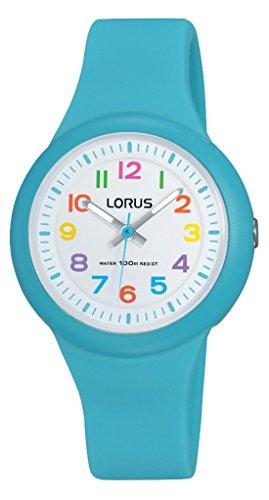 Lorus Watches Unisex Analog Quarz Uhr mit Kautschuk Armband RRX51EX9