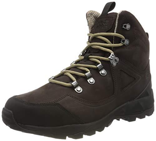 Jack Wolfskin Herren Cascade Hike XTL MID M Outdoorschuhe, Dark Brown/Black, 45 EU