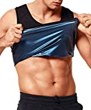 QUAFORT Sweat Sauna Vest for Men Body Shaper Waist Trainer Workout Heat Trapping Polymer Shirt Pullover Tank Top