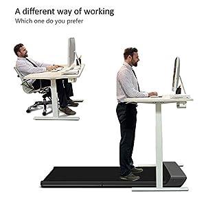 WalkingPad A1 Pro Smart Walk Folding Treadmill Slim Foldable Exercise Fitness Equipment Under Desk Running Walking Pad Outdoor Indoor Gym