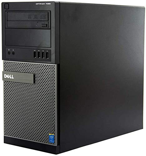Windows 10 Dell 7020 Intel Core i5-4570T Tower PC Computer - 8GB DDR3-1000GB HDD DVDRW -(Renewed)
