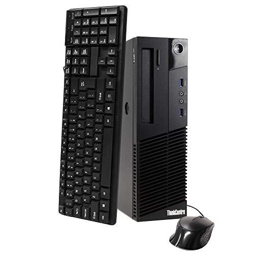 lenovo ThinkCentre M93p SFF Pro Business Desktop Computer, Intel Quad Core i5-4570 up to 3.6GHz, 8GB RAM, 128GB SSD, USB 3.0, VGA, Gigabit Ethernet, Windows 10 Professional (Renewed)
