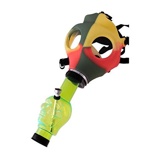 Mascara con bong de calavera, varios colores