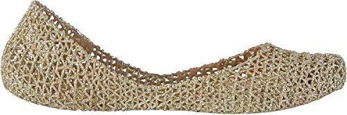 melissa Campana Papel VII, Ballerine Donna, Oro Glitterato 50712, 38 EU