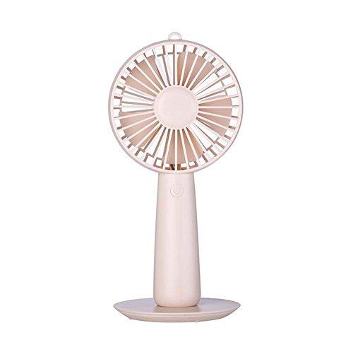 Zakventilator, creatief, make-up, spiegel, mini-ventilator, USB, voor buiten (kleur: roze)