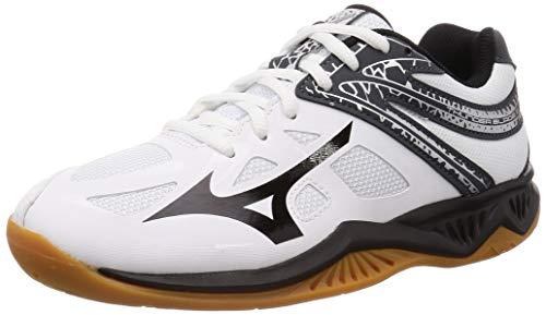 ミズノ ()MIZUNO(ミズノ)バレーボール シューズ ローカット サンダーブレード 2 V1GA197009 09:ホワイトxブラックxダークグレー