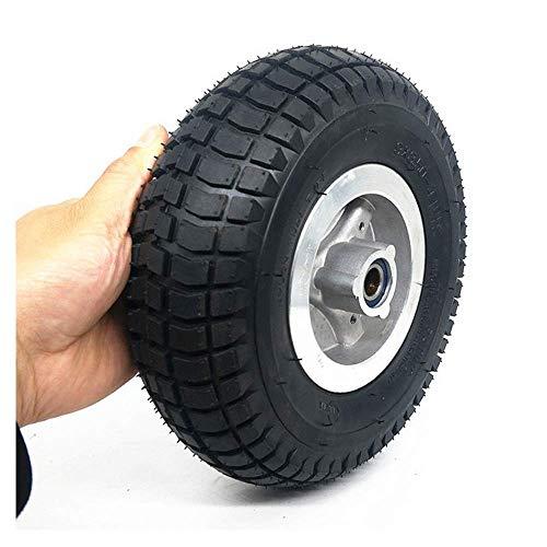 Neumático para scooter, ruedas 9x3.50-4, neumáticos antideslizantes resistentes a la abrasión, diámetro interior 15 mm, adecuado para scooters/triciclos para personas mayores, fácil instalación