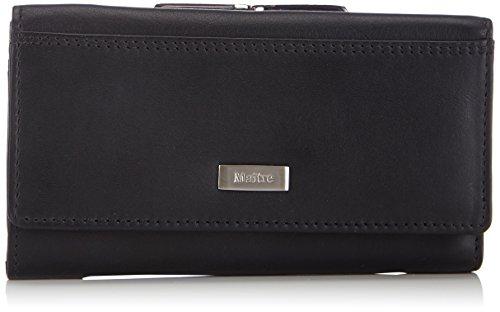 Maitre Damen Bügelbörse Geldbörsen, Schwarz (Black 900), 14x8x1 cm