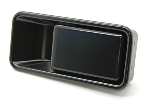 LatchWell PRO-4001001-02 Rear Exterior Tailgate Handle in Black for Jeep Wrangler TJ & YJ