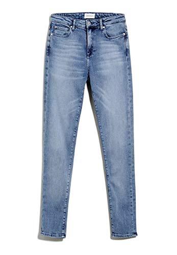 ARMEDANGELS TILLAA X Stretch - Damen Jeans aus Bio-Baumwoll Mix 29/30 Sky Blue Denims / 5 Pockets Skinny Skinny Fit