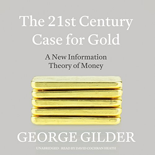 The 21st Century Case for Gold audiobook cover art