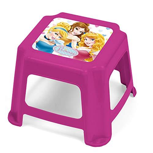 Arditex wd7972 – Tabouret en plastique, motif Princesses Disney