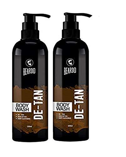 Beardo De-Tan Bodywash For Men, 200 ml (Pack of 2)