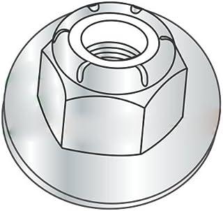 Standard Zinc M12 x 1.75 Coarse Class 10 Nyloc Nylon Insert Locknut