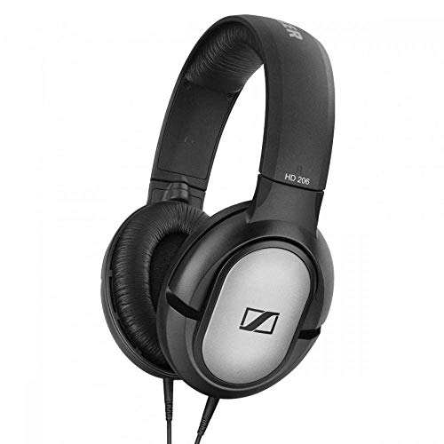 Sennheiser HD 206 507364 Headphones (Black)