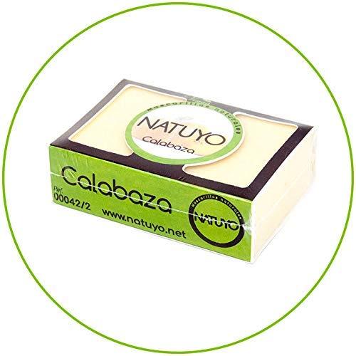 - Mascarilla de jabón NATUYO antioxidante de CALABAZA.- Para luchar contra los...