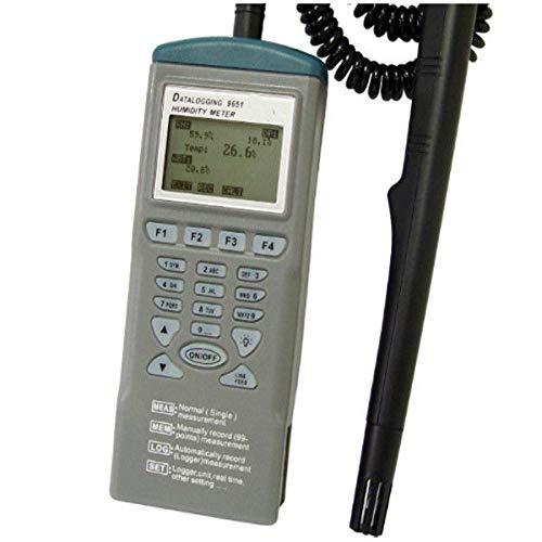 AZ9651 Interface Hand-Tester, RH Logger, Hygrometer Datalogger