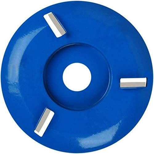 Accesorio de fresado de disco de corte de madera de potencia Arco / plano para accesorio de amoladora angular 90 mm de diámetro 16 mm 3 piezas 3/5/6/8 Diente-1