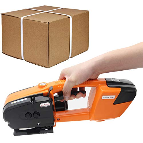 BAOSHISHAN Electric Strapping Tool for 1/2 in-5/8 in PP PET Straps Automatic Strapping Machine...